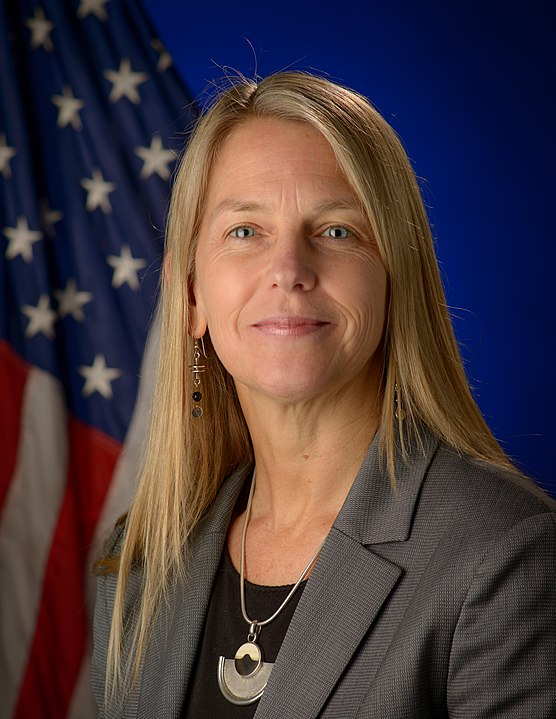 Portrait, Dava J. Newman, Deputy Administrator, National Aeronautics and Space Administration (NASA), Wednesday, May 20, 2015 at NASA Headquarters in Washington.  Photo Credit: (NASA/Bill Ingalls)
